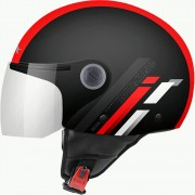 MT Helmets OF501 Мотошлем открытый STREET SCOPE D5 GLOSS RED