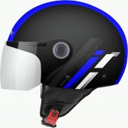 MT Helmets OF501 Мотошлем открытый STREET SCOPE D7 GLOSS BLUE