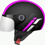 MT Helmets OF501 Мотошлем открытый STREET SCOPE D8 GLOSS FLUOR PINK
