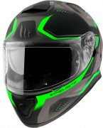 Шлем-интеграл MT Thunder 3 SV Turbine C6 Matt Fluor Green