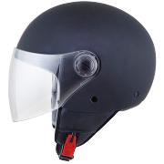 MT Helmets OF501 Street Solid A6 Matt Black Мотошлем открытый