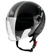 MT Helmets OF501 Street Scope D2 Gloss Grey