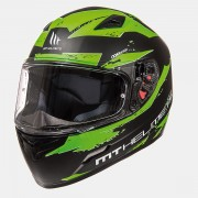 Шлем-интеграл MT Mugello Vapor Matt Black Fluo Green