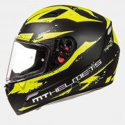 Шлем-интеграл MT Mugello Vapor Matt Black Hi-Vis Yellow