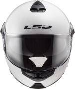 LS2 FF325 Strobe Electric Snow (Gloss White) шлем-модуляр