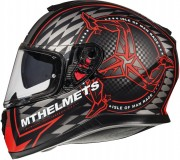 Шлем-интеграл MT Thunder 3 SV ISLE OF MAN B5 MATT RED