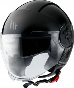 MT Helmets OF502 Viale BREAK A1 GLOSS BLACK Мотошлем открытый