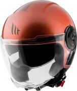 MT Helmets OF502 Viale BREAK A5 GLOSS RED Мотошлем открытый