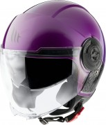 MT Helmets OF502 Viale BREAK A8 GLOSS PINK Мотошлем открытый