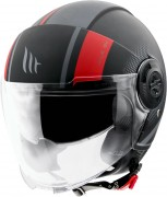 MT Helmets OF502 Viale PHANTOM C5 MATT RED Мотошлем открытый