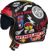 Мотошлем открытый MT Helmets LE MANS 2 SV ANARCHY A1 MATT BLACK